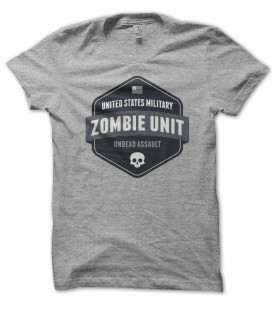 T-shirt United States Military, Zombies Unit