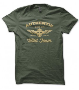 T-shirt Authentic Wild Team