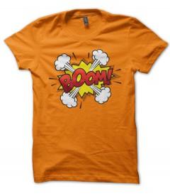 T-shirt Homme Col Rond Bulle Bande Dessinee ZAP Comics Vintage