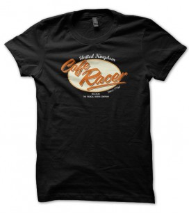 T-shirt Cafe Racer United Kingdom UK Motorcycle