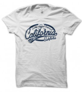 T-shirt California Surfer West Coast, Pacific Riders