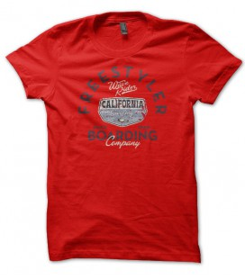 T-shirt Freestyler Wave Rider Surf Board Company California