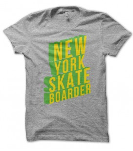 T-shirt New York Skate Boarder