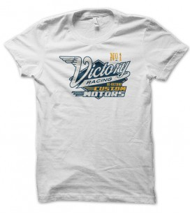 T-shirt vintage Victory Racing, Hi octane Custom motors