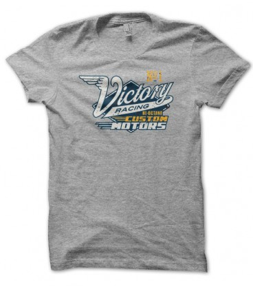 T-shirt vintage  Victory Racing, Hi octane Custom motors