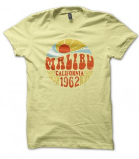 T-shirt Malibu California
