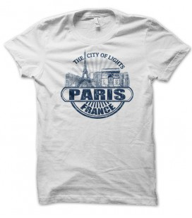 T-shirt Paris, city of lights