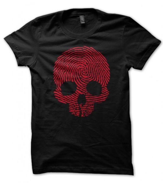 T-shirt Skull Stamp ( Empreinte Tête de mort )