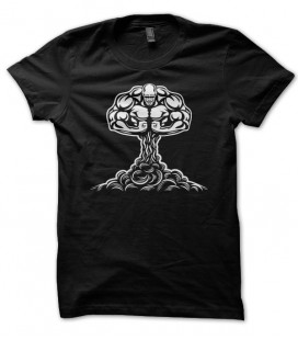 T-shirt Atomic Nuclear Musculation