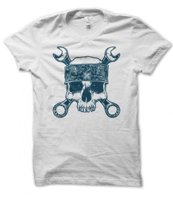 T-shirt Skull Mecano
