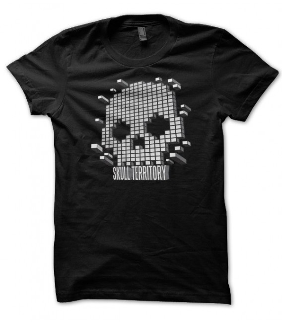 T-shirt Skull Territory