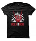 T-shirt Skull Rock n Roll HangLoose