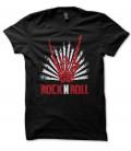 T-shirt Skull Rock n Roll HangLoose