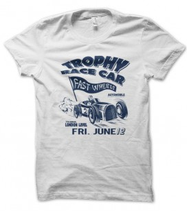 T-shirt vintage Trophy Race Car
