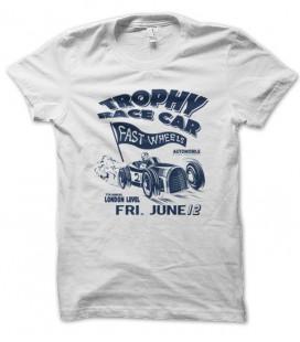 T-shirt vintage Trophy Race Car