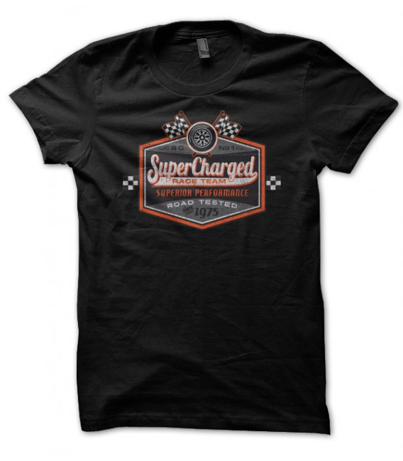 T-Shirt Super Charged Racing