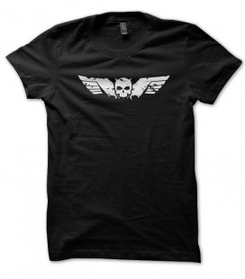 T-shirt Skull Wings Racing