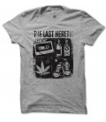 T-shirt The Last Heretic, K7, Basket, Alcool & Weed....