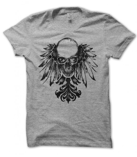 T-shirt Indian Skull ( Tête de Mort Indienne )