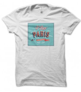T-shirt Signs : I Love Paris