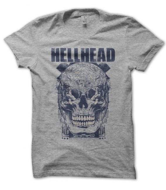 T-shirt HellHead Virtud in Skull