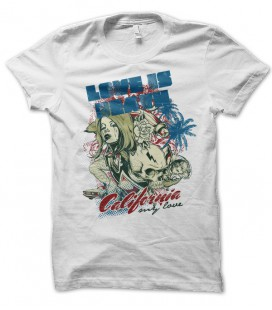 T-shirt Love is Death, California my Love