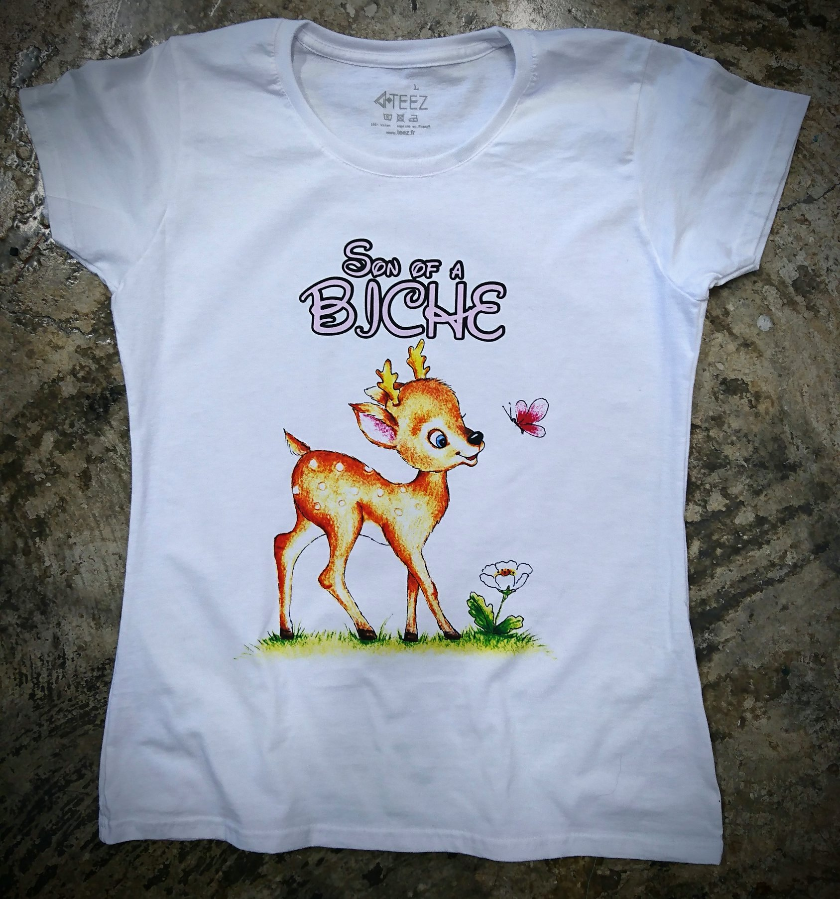 Tee shirt humour Son of a Biche