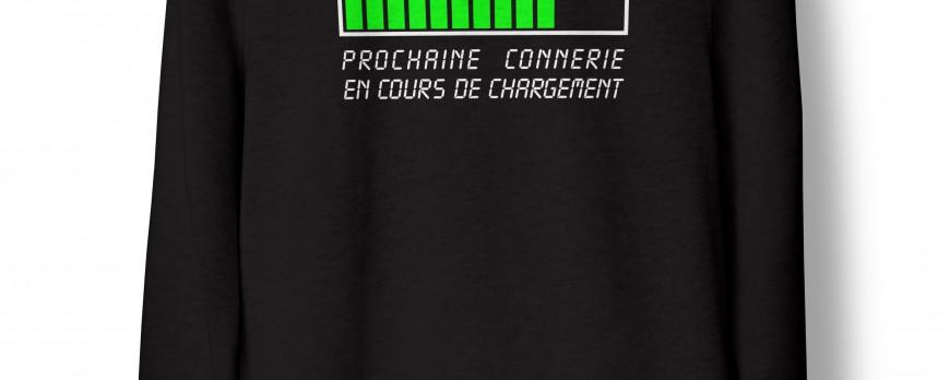Sweat Shirt à Message ? Humour ou réalité ? !