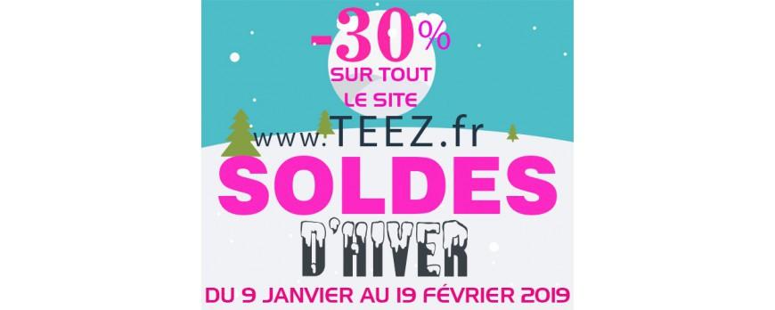 SOLDES d'HIVER ! -30% sur TOUT le site !